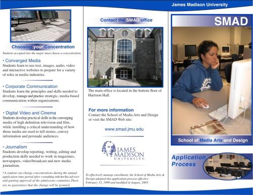 SMAD brochure